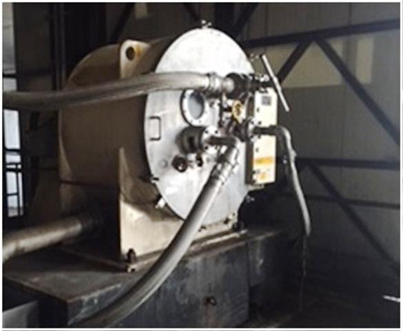 (3) Krauss-Maffei HZ 100/2 VK peeler centrifuges, 316SS.