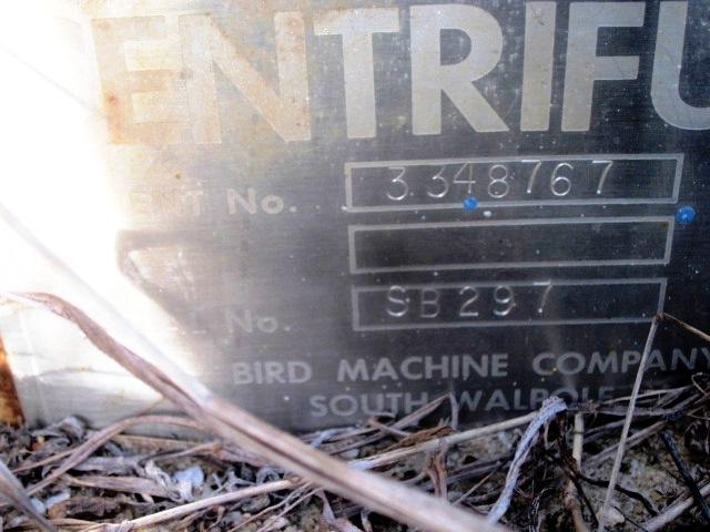 (6) Bird 36 x 72 screen bowl decanter centrifuges, 316SS.