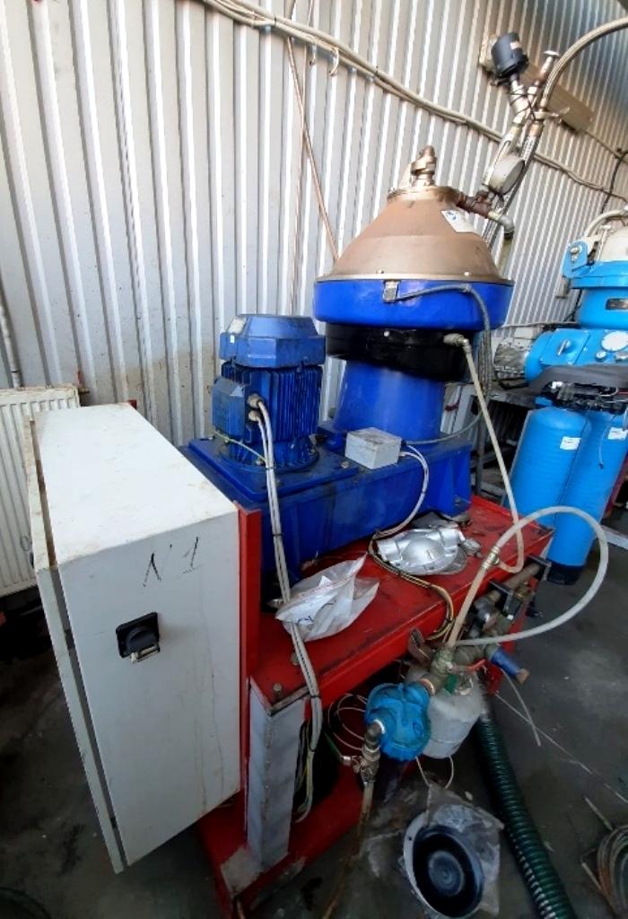 Alfa-Laval WSPX 407 SGD-31CG clarifier centrifuge, 316SS.