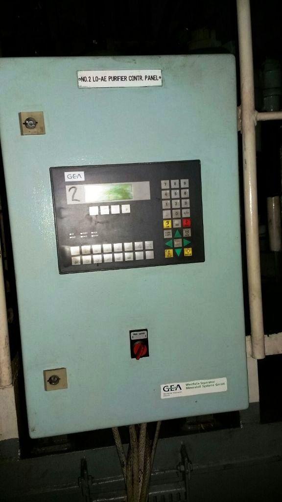 (3) Westfalia OSC 50-0136-066/50 oil purifiers, SS.