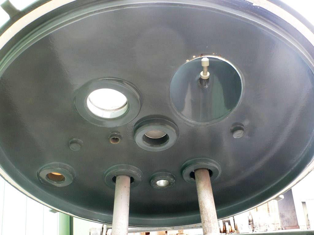 (2) Ellerwerk 735-CR perforate basket centrifuges, Hastelloy C-22.