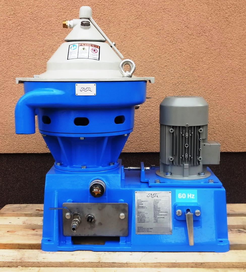 Alfa-Laval WSPX 403 SGP-31G lab clarifier, 316SS.