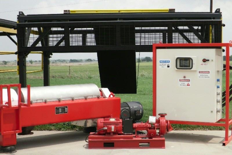 (3) RC Solids 21 x 83 drilling mud decanters, Duplex SS.