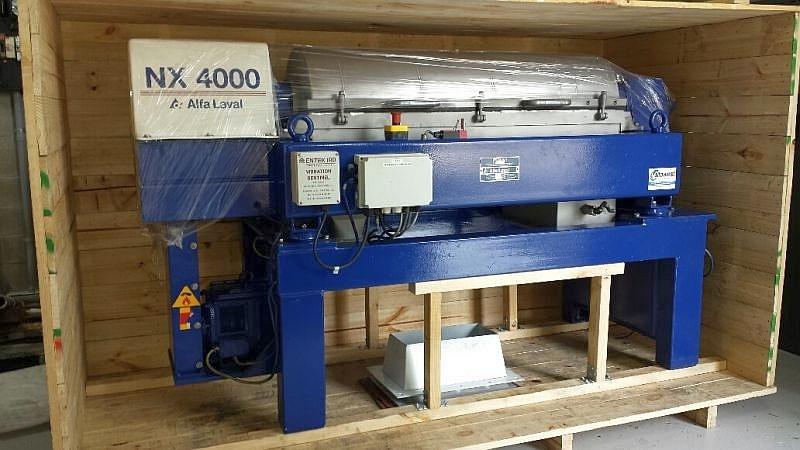 Alfa-Laval AVNX 4045 AT decanter centrifuge, 316SS.