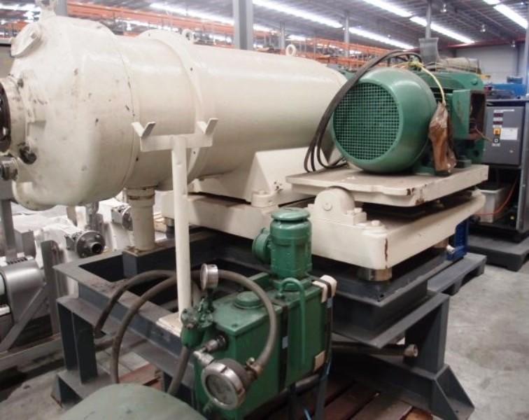 (2) Westfalia SDB 360L decanter centrifuges, 316SS.