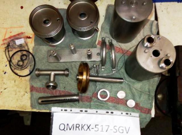 Alfa-Laval QMRKX 517 SGV-35C-50 quark clarifier, 316SS.
