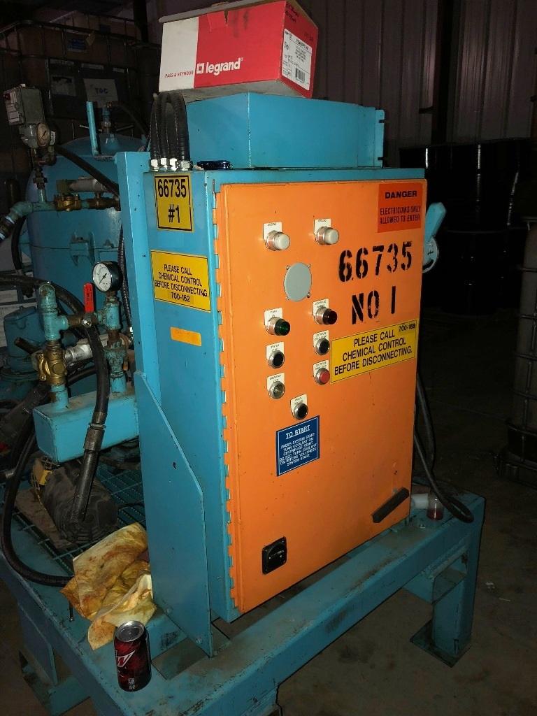 (2) Westfalia OSA 20-02-066 lube oil purifiers, SS.