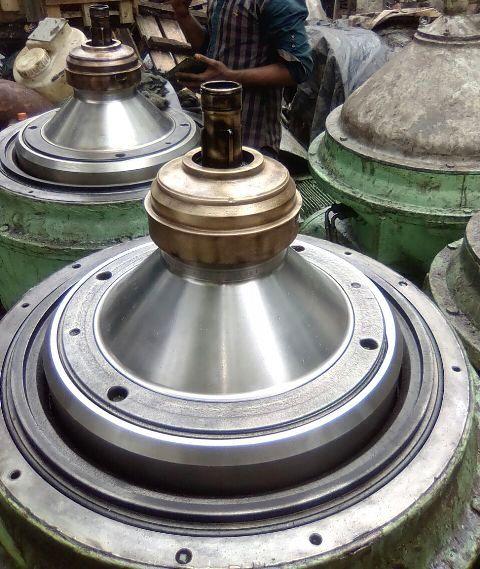 (2) Alfa-Laval FOPX 611 TFD-24-60 oil purifiers, SS.