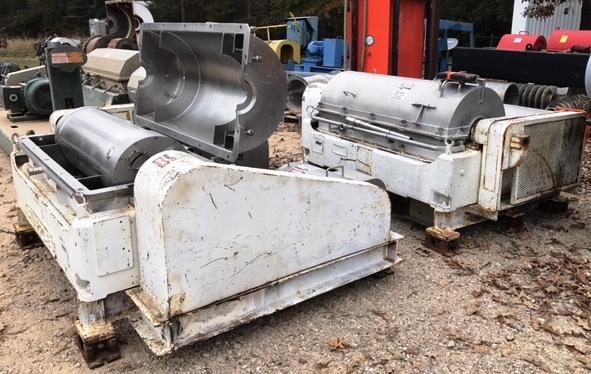 (2) Sharples P3400 SANITARY decanter centrifuges, 316SS.