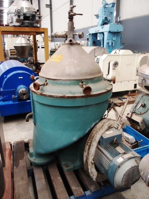 Alfa-Laval WSPX 213 TGT-74-50 coolant concentrator, 316SS.