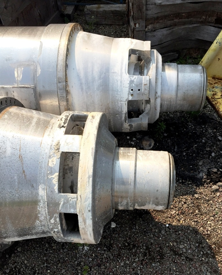 (5) Sharples P6000 rotating assemblies with gearboxes.