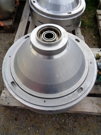 (4) Alfa-Laval SRPX 417 HGV-14CH separators, 316SS.