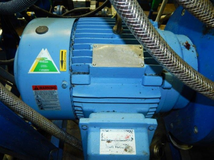 Alfa-Laval WHPX 510 TGD-29-60 oil purifier skid, SS.