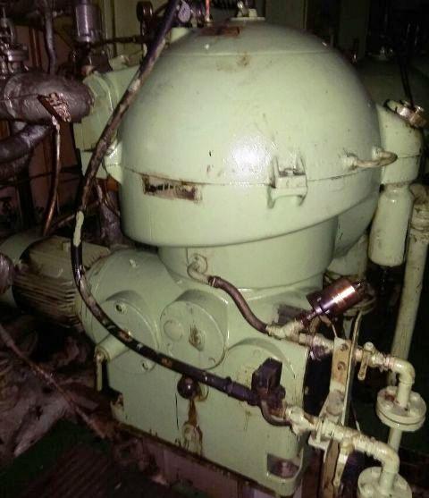 (3) Westfalia OSB 35-0136-066 oil purifiers, SS.