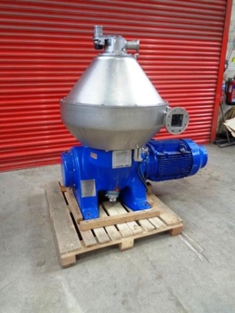 Alfa-Laval PX 60 VGD-14CG vegetable oil separator, 316SS.