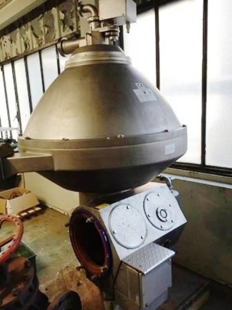 Alfa-Laval PX 95 VGV-14C vegetable oil separator, 316SS.