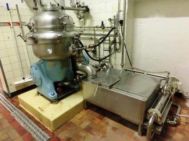 Alfa-Laval BRPX 213-34H-22 clarifier centrifuge, SS.