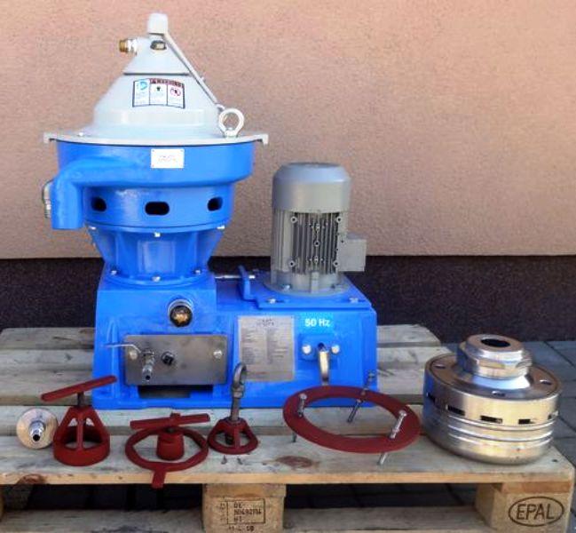 Alfa-Laval MMPX 403 SGP-11-60 oil purifier, 316SS.