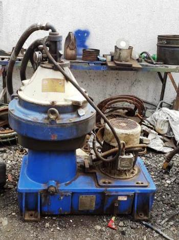 (3) Alfa-Laval MFPX 307 TFD-21 oil purifiers, 316SS.