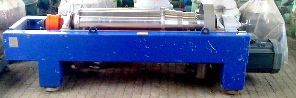Alfa-Laval SGDM 400 decanter centrifuge, 316SS.