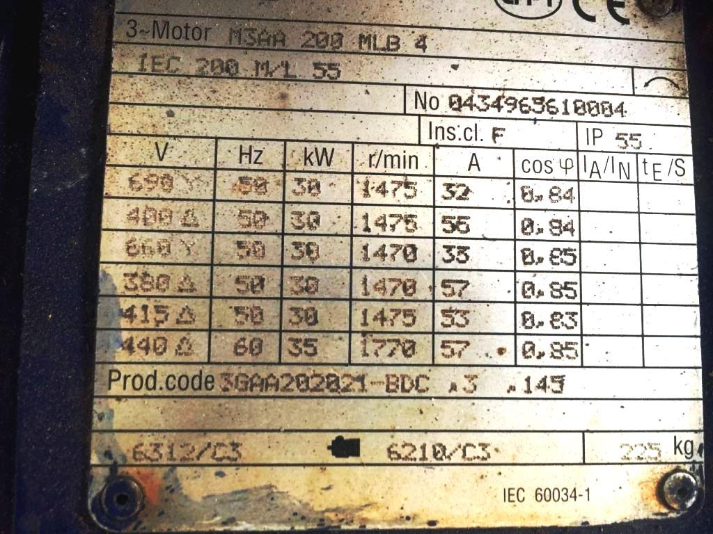 Alfa-Laval ALDEC 408 decanter centrifuge, 316SS.