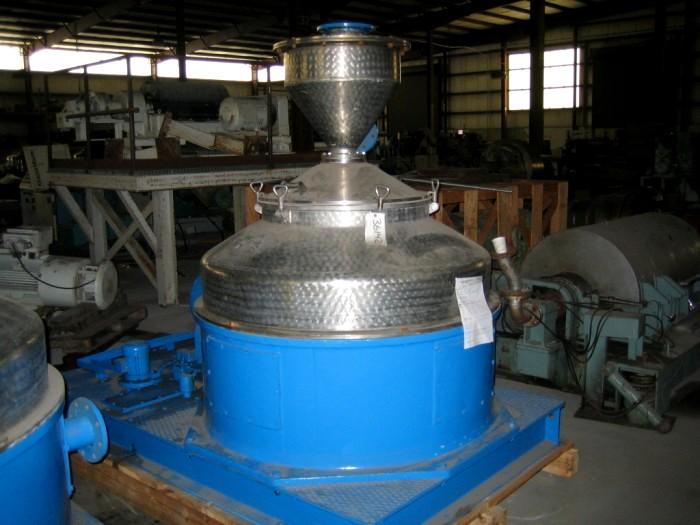 (2) Siebtechnik KOX3H (H-520) Conturbex centrifuges, 316SS.