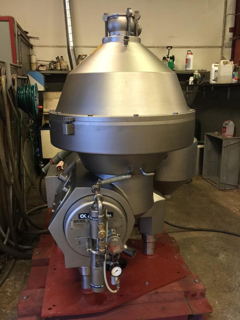 Alfa-Laval BRPX 714 HGV-34C clarifier centrifuge, 316SS.