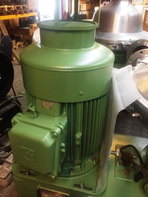 (2) Westfalia SB 80-06-177 clarifier centrifuges, 316SS.