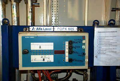 (2) Alfa-Laval FOPX 605 TGD-24-60 oil purifiers, 316SS.
