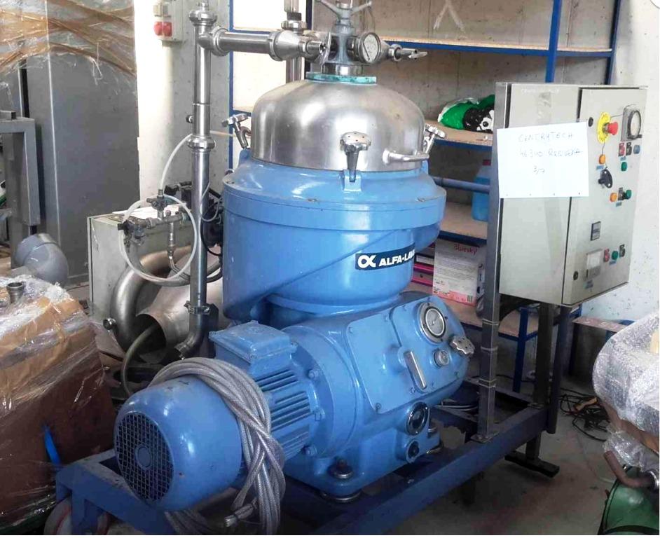 Alfa-Laval VNPX 307 SGP-34 clarifier centrifuge, 316SS.