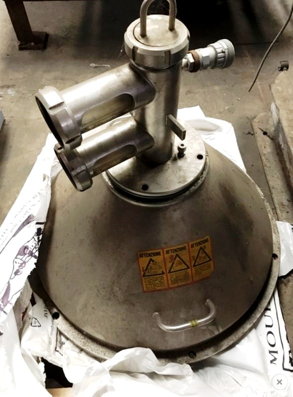 Alfa-Laval VNPX 407 SGP-34 clarifier centrifuge, 316SS.
