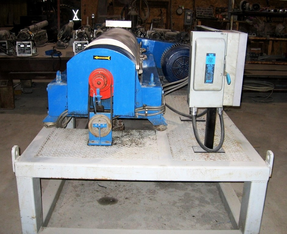 Alfa-Laval NX 418B-31G decanter centrifuge, 316SS.