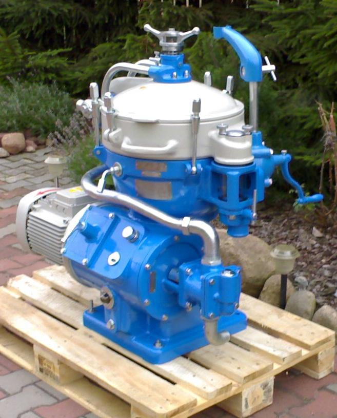 Alfa-Laval MAB 206S-24-60 oil purifier, SS.