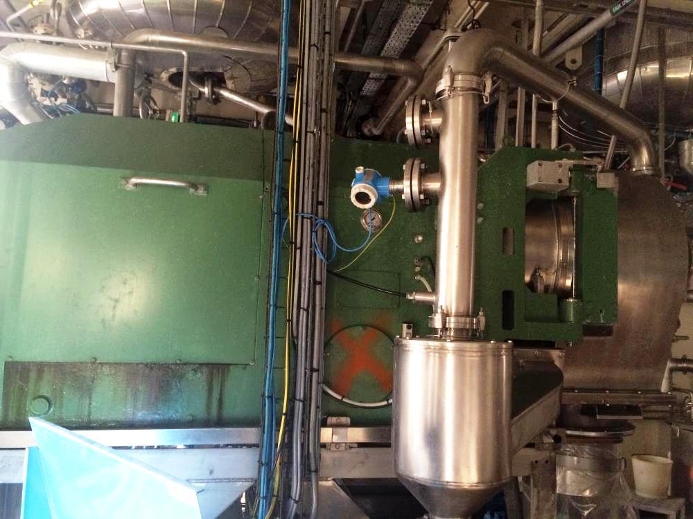 (3) Heinkel HF 600 Inverting Filter centrifuges, 316SS.