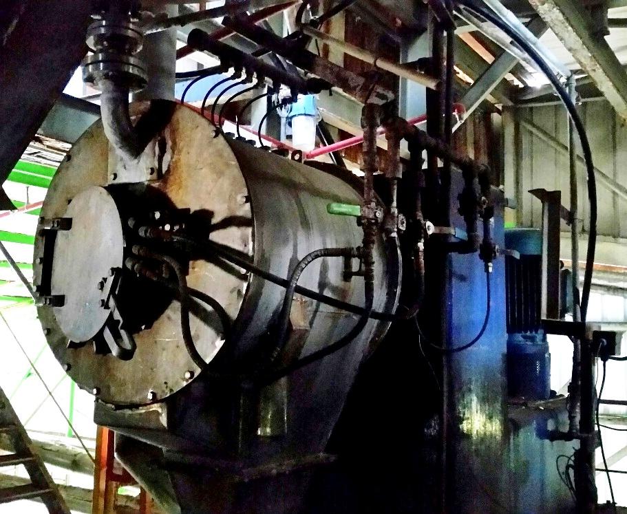 (2) Ferrum/Escher-Wyss P-500/2 pusher centrifuges, 316SS.
