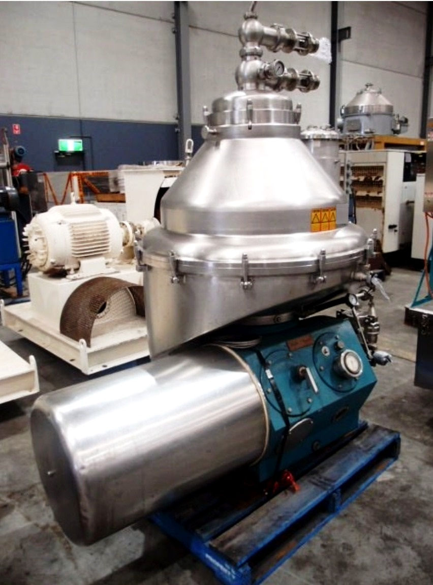 Alfa-Laval BRPX 418 SFV-34C clarifier, 316SS.
