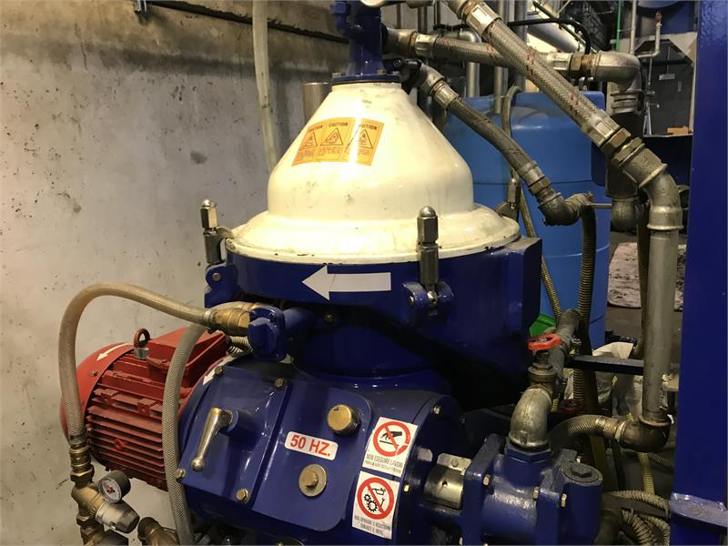 Alfa-Laval MAPX 205 TGT-24 oil purifier, SS bowl.