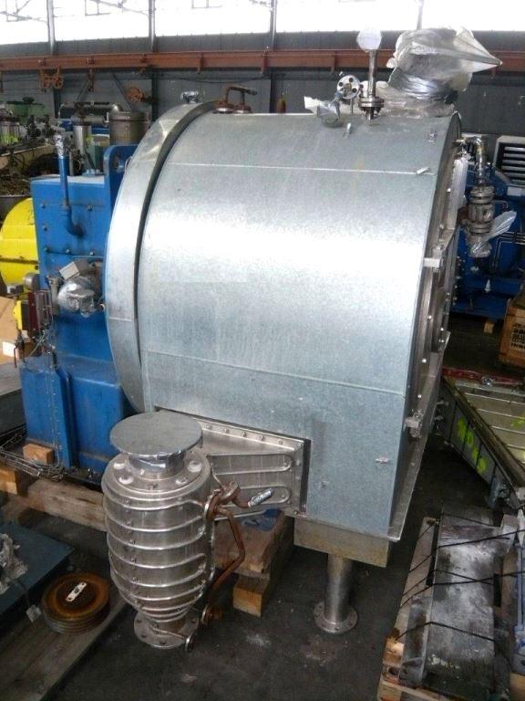 (2) Siebtechnik H-1000 Conturbex centrifuges, 316SS.