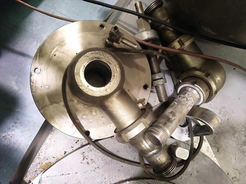Alfa-Laval BRPX 617 SFV-31CGL-50 clarifier, 316SS.