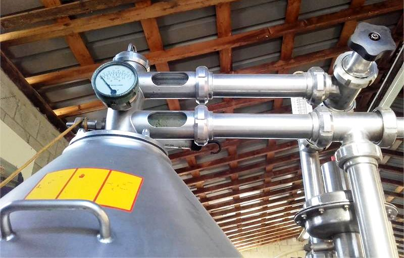Alfa-Laval VNPX 407 SGT-34-50 clarifier centrifuge, 316 SS.