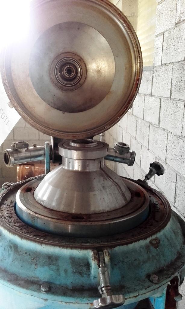 Alfa-Laval PX 309-39S-60 clarifier centrifuge, 316SS.