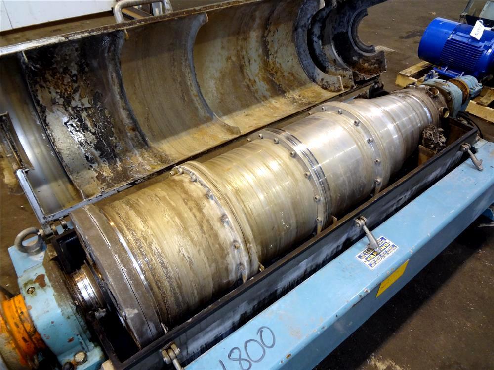 Alfa-Laval AVNX 418B-31G decanter centrifuge, 316SS.