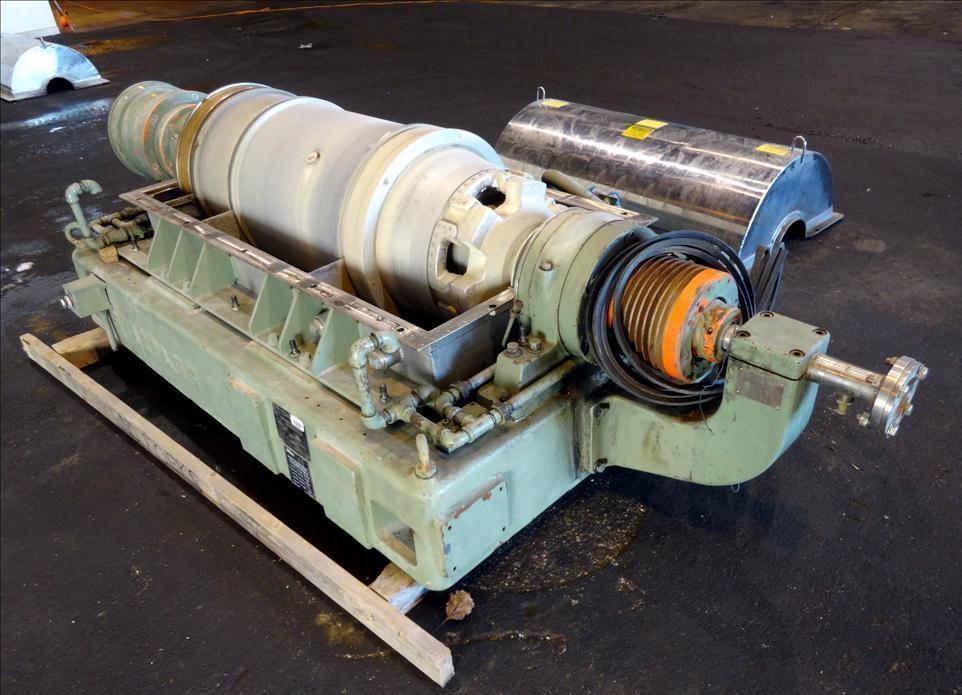(2) Sharples PM-40,000 (P4600) Super-D-Canter centrifuges, 316SS.
