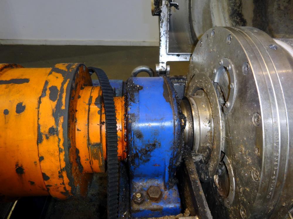 Alfa-Laval ALDEC 404 decanter centrifuge, 316SS.