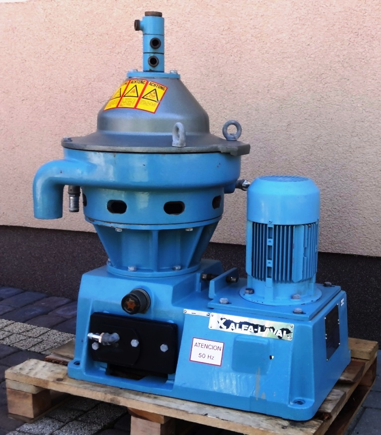 Alfa-Laval WSPX 303 TGP-71-50 concentrator, 316SS.