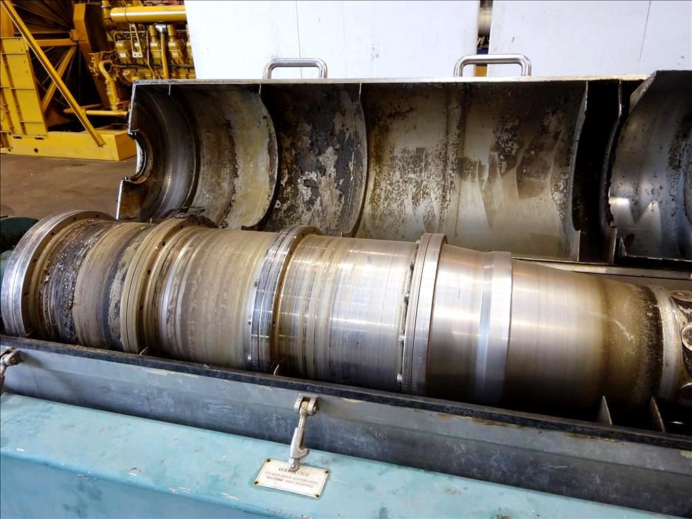 Alfa-Laval AVNX 418B-31 decanter centrifuge, 2205 SS.