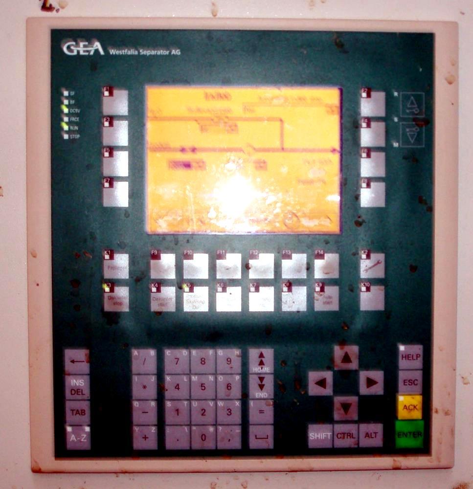 (2) Westfalia UCC 458-00-02 decanter centrifuges, 316SS.