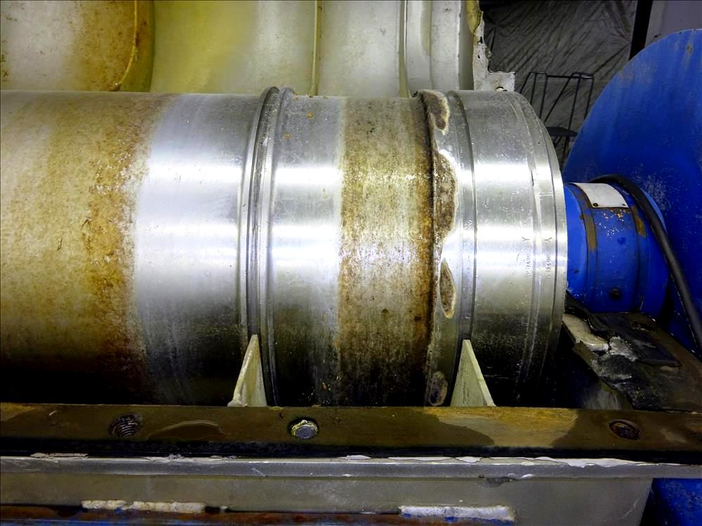 (3) Sharples P3400 Super-D-Canter centrifuges, 316SS.