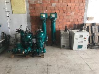 (2) Westfalia OSD 6-91-067 fuel oil purifiers, SS.