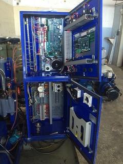 Alfa-Laval P-150 fuel/lube oil purifier module, 316SS.